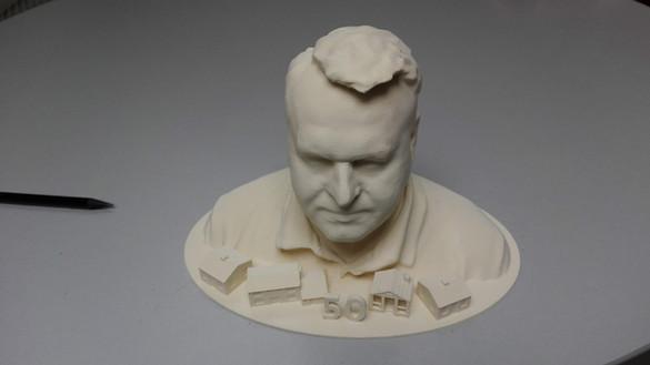 3D bust - a gift