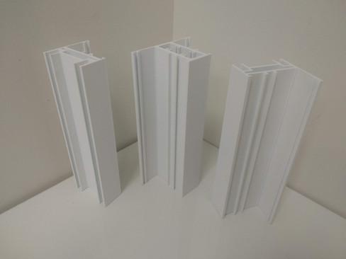 Production of prototypes of plastic profiles