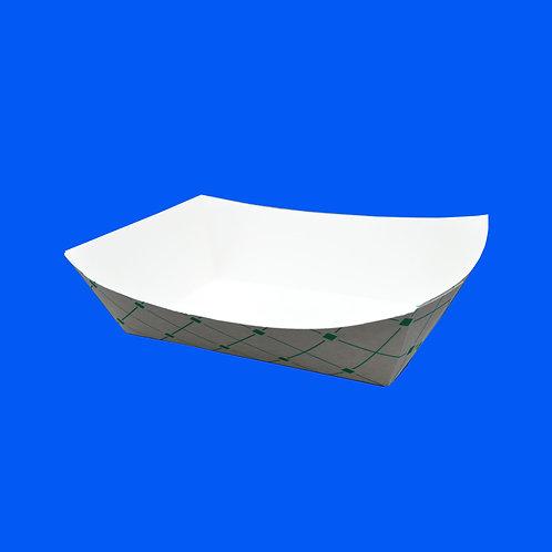Charola de Cartón No.4 Green Trays