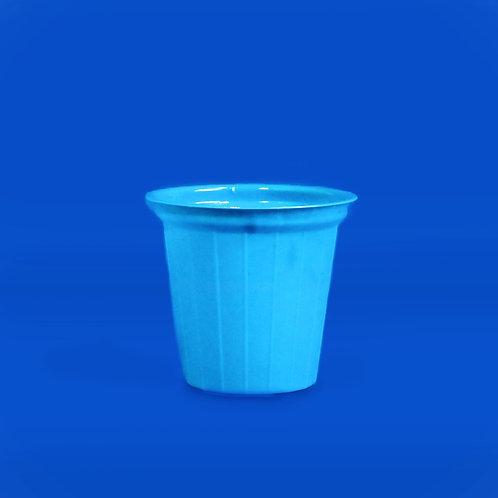 Vaso Plástico N. 5A Azul Reyma