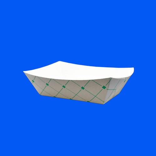 Charola de Cartón No.21 Green Trays