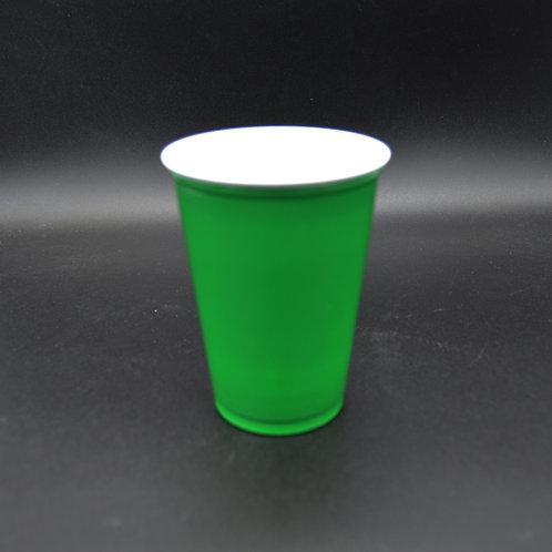 Vaso Plástico 10 oz Verde Promoción Solo
