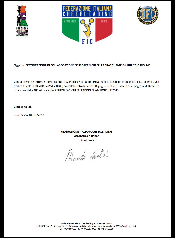 Reference European Championship 2013