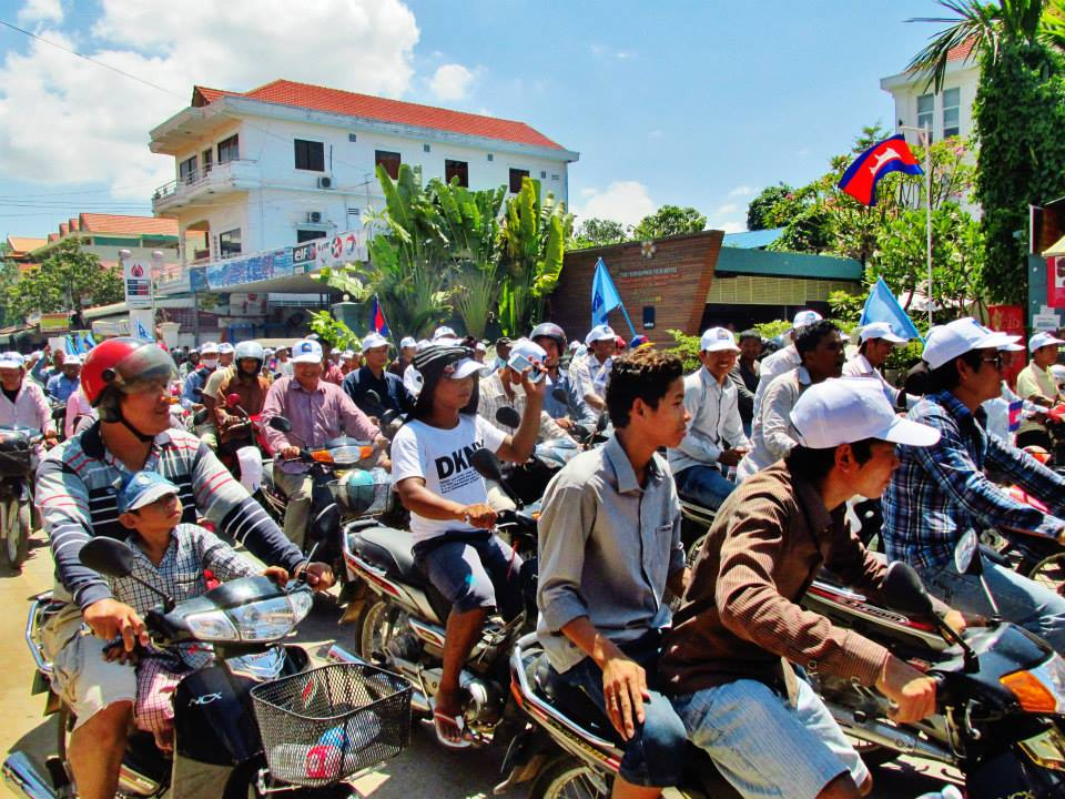 Southeast Asia Tours - Cambodia Tours - Motorbikes in Southeast Asia