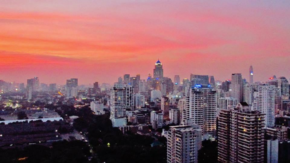Southeast Asia Itineraries - Southeast Asia Tours - Downtown rooftop bar sunsets in Bangkok, Thailan