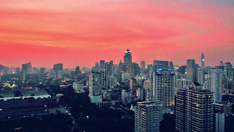 Southeast Asia Tours - Cambodia Tours - Rooftop views in Bangkok, Thailand