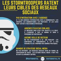 les stormtroopers ratent leurs cibles de