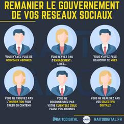 remanier le gouvernement de vos reseaux