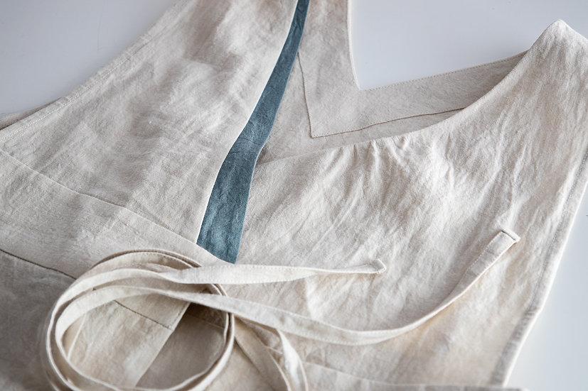 Linen Work Dress