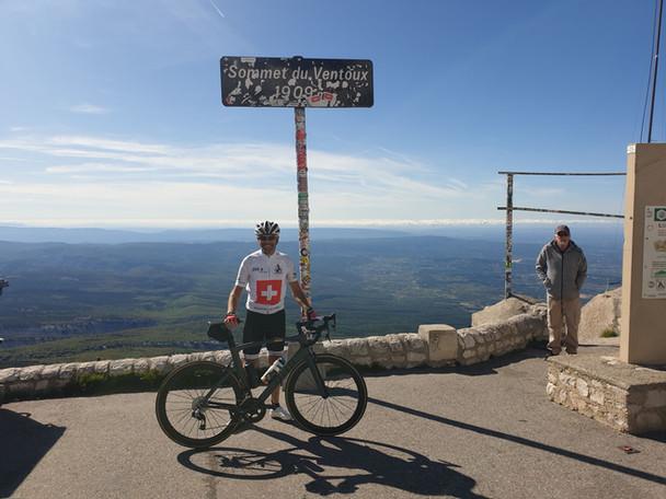 Mont Ventoux erreicht