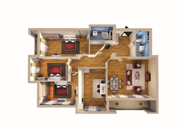 4 otaq - 171.40 m2