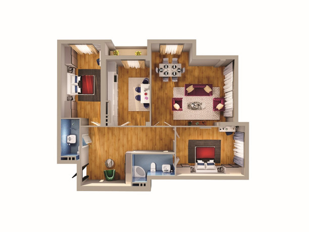 3 otaq - 139.50 m2