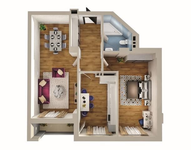 2 otaq - 96.70 m2