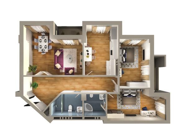 3 otaq - 130.20 m2