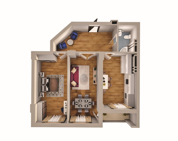 2 otaq - 96.00 m2