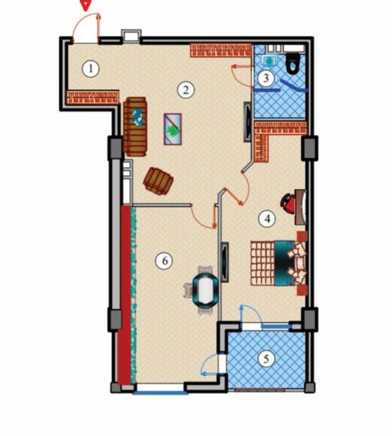 2 otaq studio - 94.76 m2