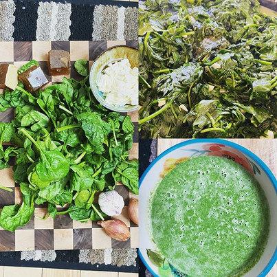 Souperspudz' Green Velvet soup