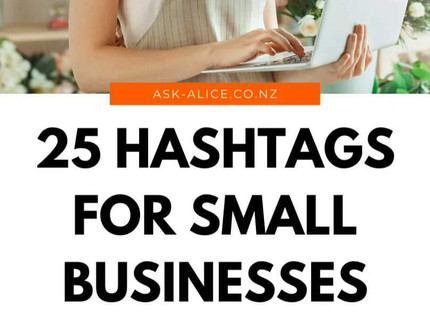 25 Hashtags for Small Businesses