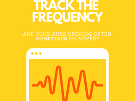 Audience Opening Frequency - Mailchimp