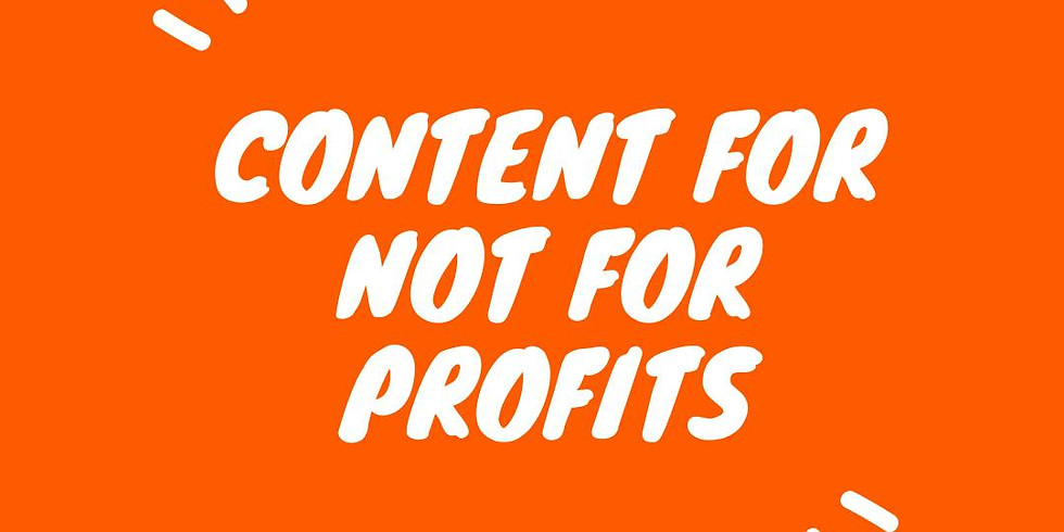 Content Pillars for Non-Profit organisations