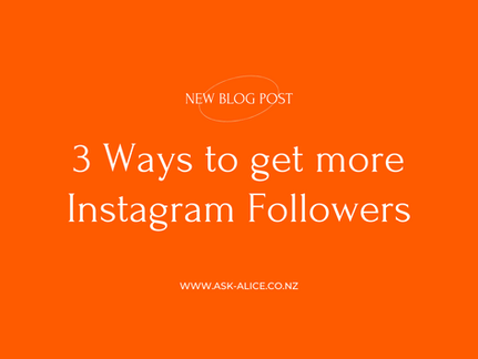 3 Ways to get more Instagram Followers in 2021 - Part 2