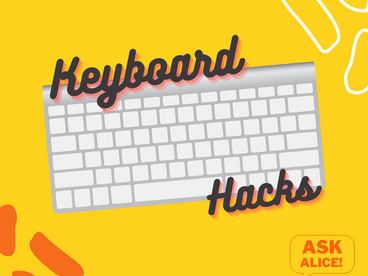 Keyboard Hacks - New Tab