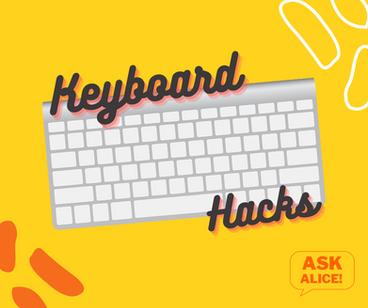 Keyboard Hacks - New Tab