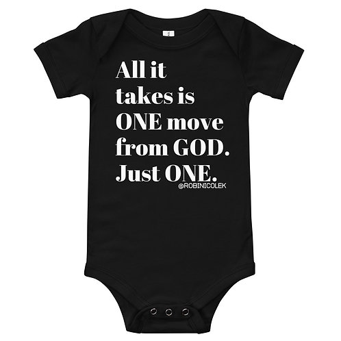 ONE MOVE infant Toddler Onesie