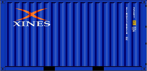 HO - XINES 20´ Sea Container