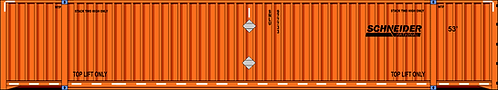 HO- Schneider (corrugated) 53' dry