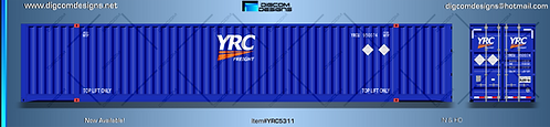 HO- YRC 53' dry container