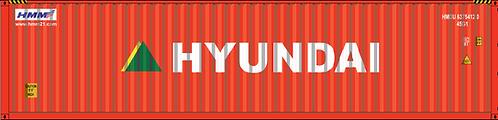 N - HYUNDAI 40´ Sea Container