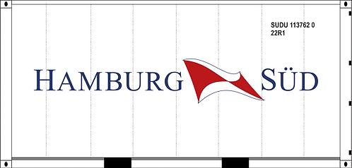 HO - HAMBURG SUD  20´Sea Container