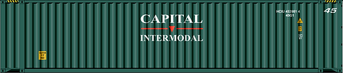 HO - CAPITAL 45´Sea Container