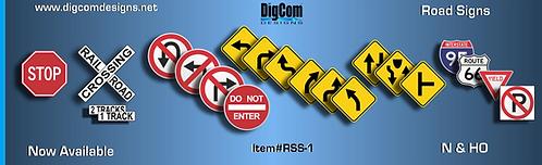 N-Road Signs