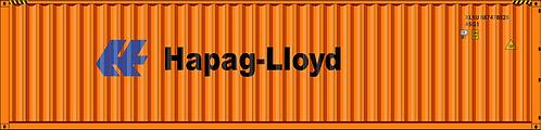 HO - HAPAG LLOYD  40´Sea Container