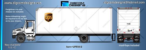 N-UPS Freight Box (white)