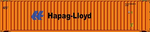 HO - HAPAG LLOYD  45´Sea Container