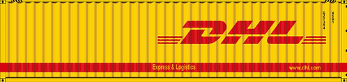 N- DHL 40' dry container