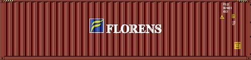 HO - FLORENS 40´Sea Container
