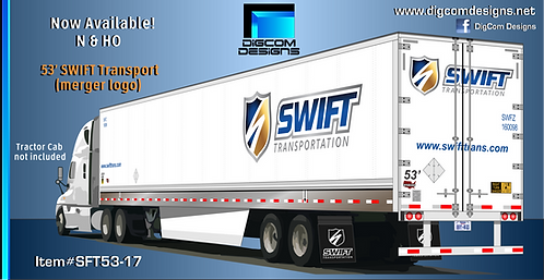 N- Swift (Knight/Swift merger logo) 53' dry