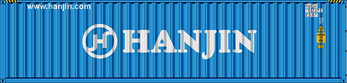 N - HANJIN 40´Sea Container