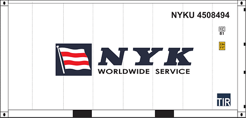 HO - NYK 20' Sea Container