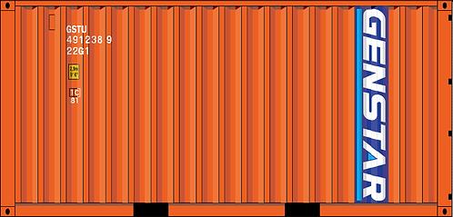 N - GENSTAR 20´Sea Container