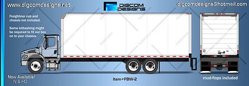 N-White Freight Box