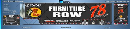 HO- Furniture Row #78 Hauler