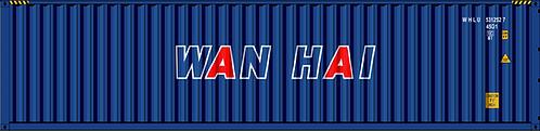 N - WAN HAI 40´Sea Container