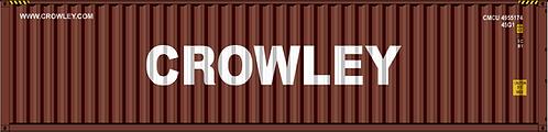 N - CROWLEY 40´Sea Container