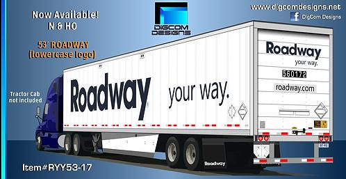 HO-ROADWAY (lowercase logo)  53' dry