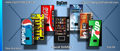 HO-Vending Machines (singles)